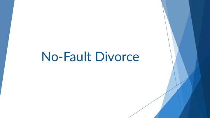 no fault divorce in texas